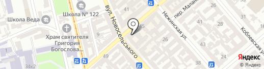 Просто стрижка на карте Одессы