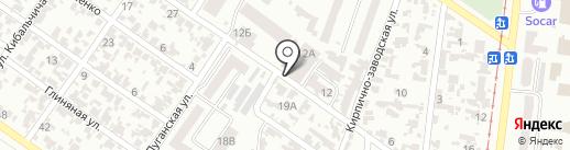 Бастион на карте Одессы