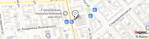 Портавик мед-фарм на карте Одессы
