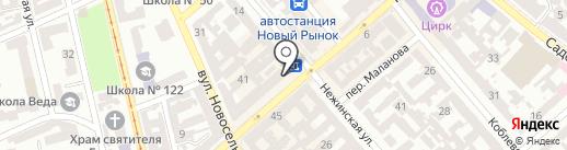 Dыm Room на карте Одессы