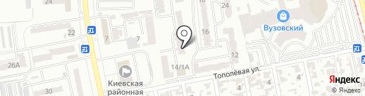 Флеранс на карте Одессы