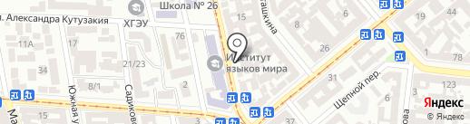 Полимед на карте Одессы