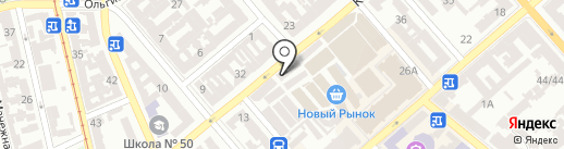 Центр дверей на карте Одессы