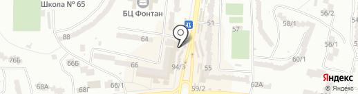 Фабрика на карте Одессы