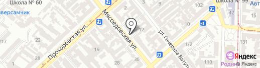 Адвокат Григоренко Ю.С. на карте Одессы