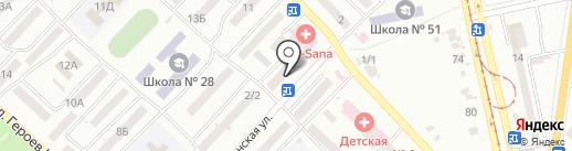 Ювелир на карте Одессы