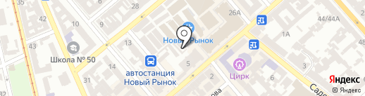 Магазин обуви на карте Одессы