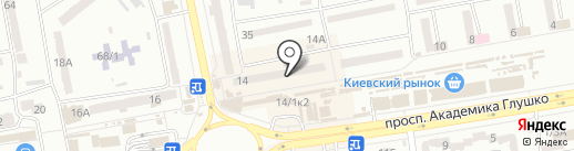Мастерская-студия рамок и багета на карте Одессы