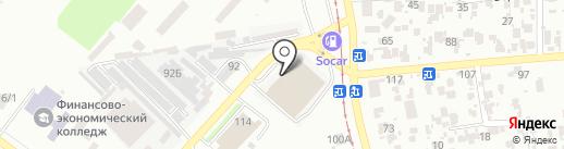 Астериа на карте Одессы