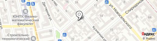 A-Service на карте Одессы