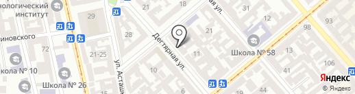 Линия Декора на карте Одессы