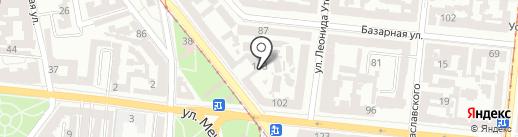 Бомбоубежище на карте Одессы