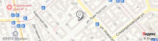 Global Work ST на карте Одессы
