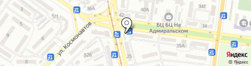 Little Paris на карте Одессы