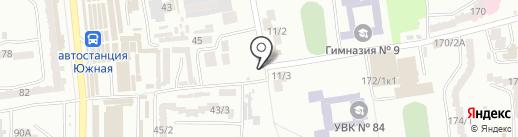Страховой брокер на карте Одессы
