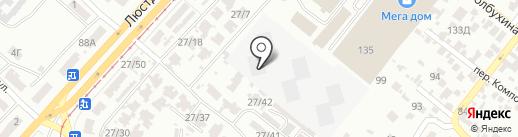 Новостройки от строительной компании Будова на карте Одессы