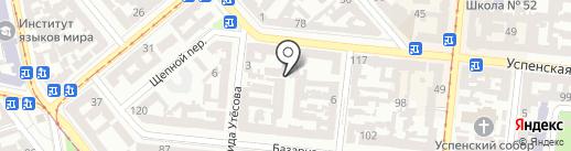 Счастье на карте Одессы