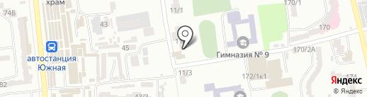 GREEN PARK Sergeevka на карте Одессы