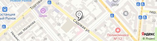 SUBJ на карте Одессы