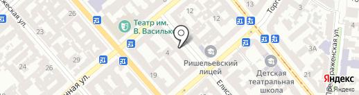 Grinder на карте Одессы