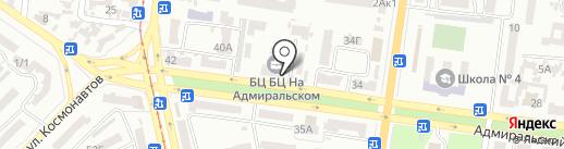 GoodFoot на карте Одессы
