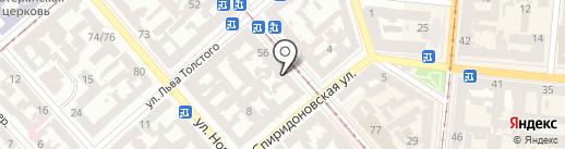 Mama-Hostel на карте Одессы