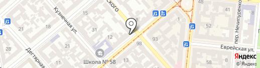 Банкомат, Ощадбанк, ПАТ на карте Одессы