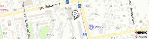АТБ на карте Одессы