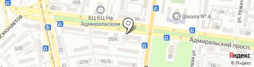 МАРКОВ И ПАРТНЁРЫ на карте Одессы