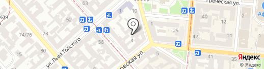 Dream mini Hostel Odessa на карте Одессы