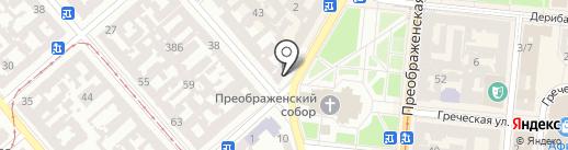 Продукты 24 на карте Одессы