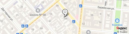 Artbilet на карте Одессы
