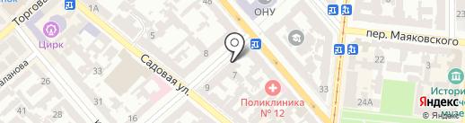 Юридический совет на карте Одессы