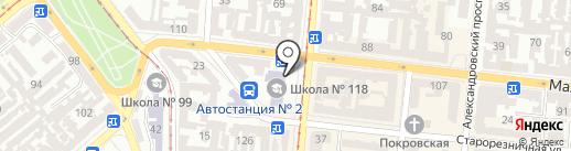 De Volan на карте Одессы