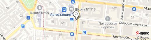 Наш Блинок на карте Одессы