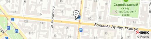 Мини-пекарня на карте Одессы