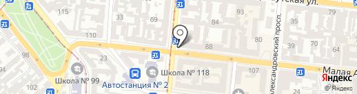 Аптека низьких цін, ТОВ на карте Одессы
