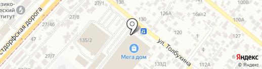 Villaggio на карте Одессы