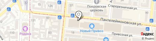 Комфорт на карте Одессы