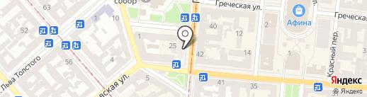 Финод на карте Одессы