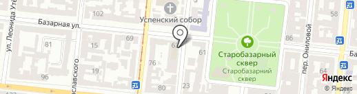 ActPro на карте Одессы