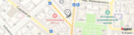 Sailor Jack на карте Одессы