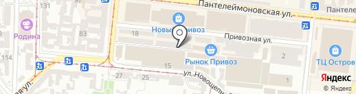 Agro-market на карте Одессы