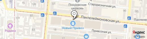 1000 мелочей на карте Одессы