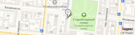 Центр строительно-технической экспертизы на карте Одессы