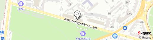 Энергостройсервис плюс, ЧП на карте Одессы
