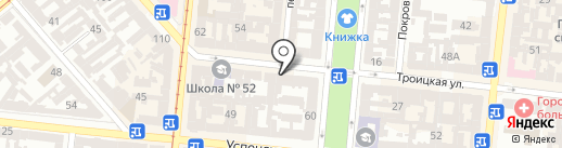 Gatsby на карте Одессы
