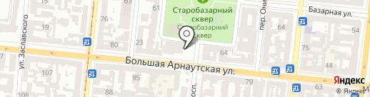 Alva D` ore на карте Одессы