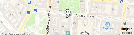 Kinza на карте Одессы
