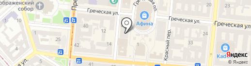 Tourist Inn на карте Одессы